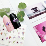 example of flower nail sliders