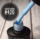 Light blue Haruyama gel polish 426