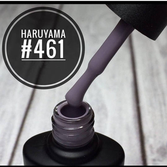 Dark puple Haruyama gel polish for manicures and pedicures
