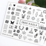 Amazing beautiful decals and sliders for manicures and pedicures