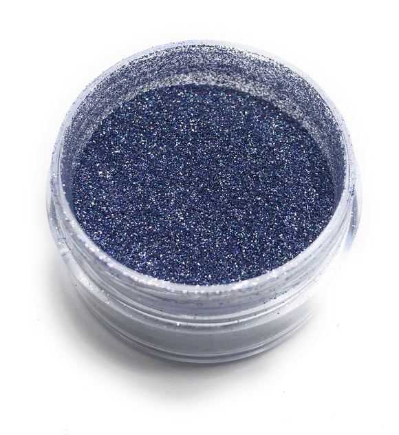 NOCTIS Blue holographic nail powder for manicures and pedicures