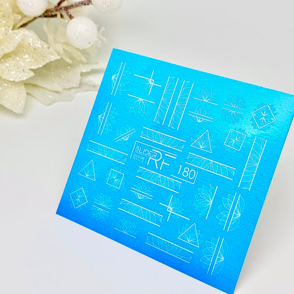 Slider.RF Geometric waterslide decals