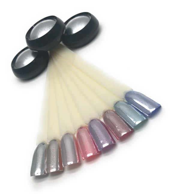 Chrome powder for every gel polish