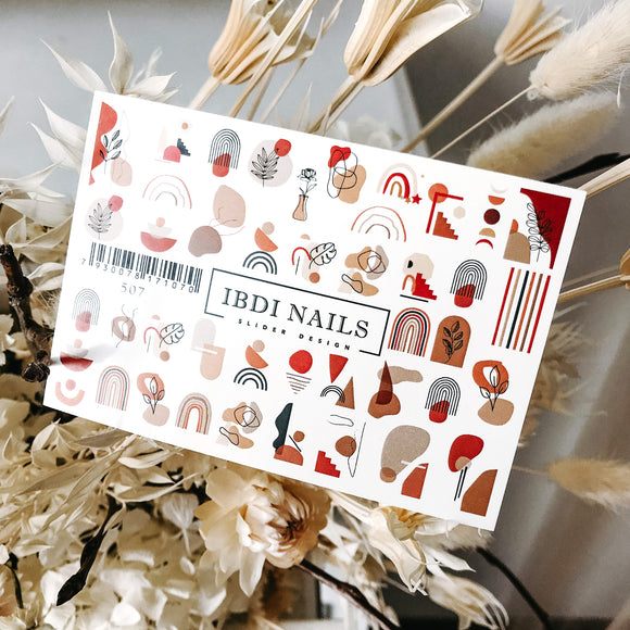 IBDI Abstract nail decals