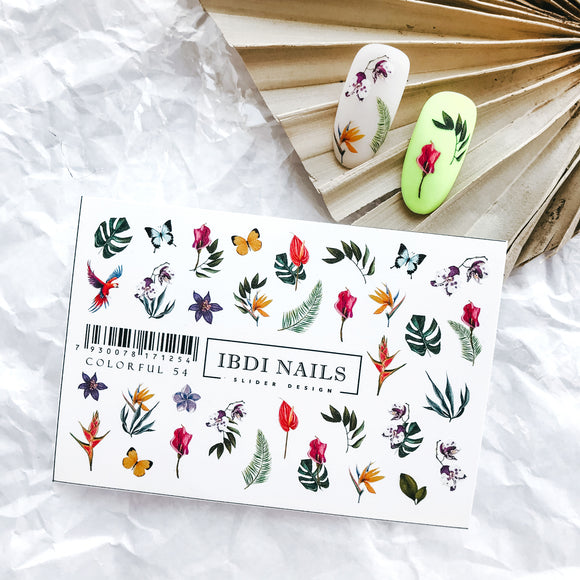 IBDI Jungle nail decals