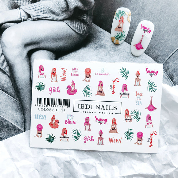 IBDI Fashion nail decals