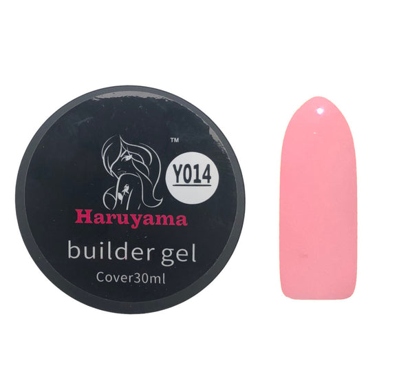 Haruyama pink builder gel nail polish for Russian manicures and pedicures
