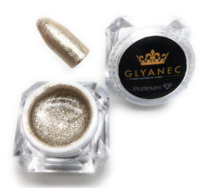 Gold Glyanec nail gel polish