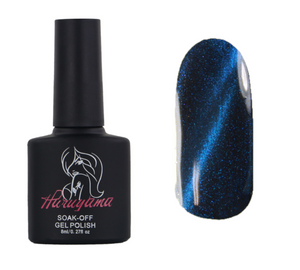 MA004 Haruyama blue cat eye gel nail polish
