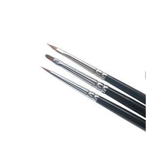 Roubloff 3 pack nail art brushes