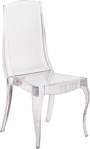 Clear Designer Stack Chair