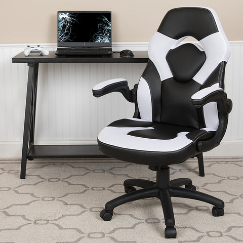 White Racing Gaming Chair