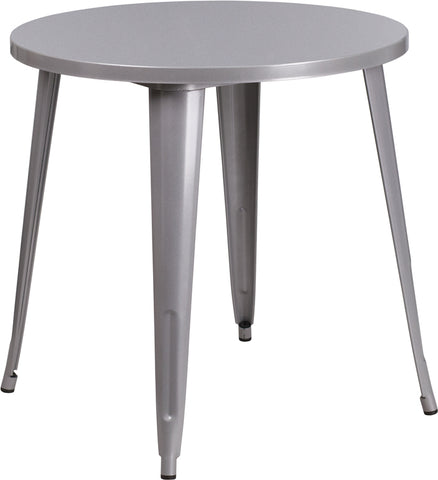 30rd Silver Metal Table