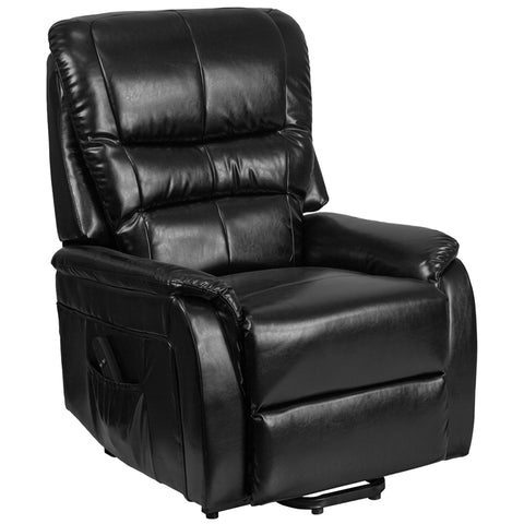 Black Leather Lift Recliner