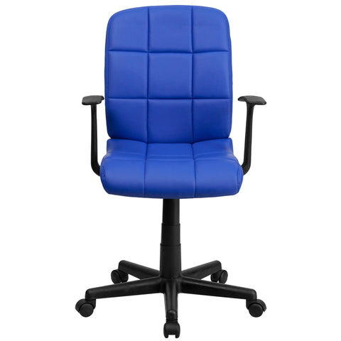 Blue Mid-back Task Chair