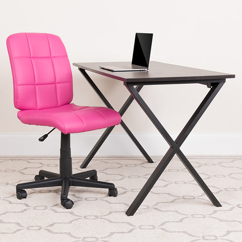Pink Mid-back Task Chair