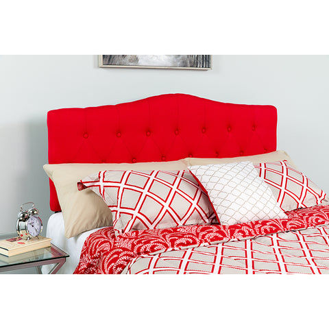 Full Headboard-red Fabric