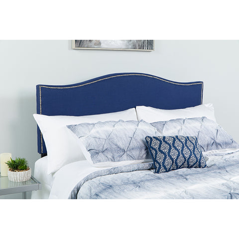 Twin Headboard-navy Fabric