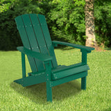 Green Wood Adirondack Chair