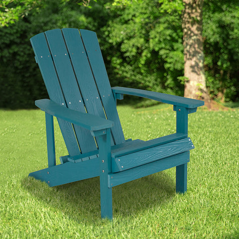 Sea Foam Wood Adirondack Chair