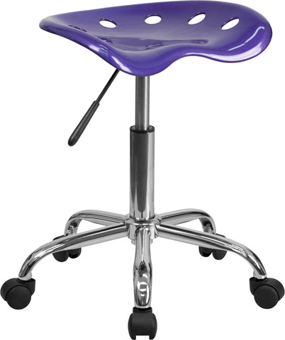 Violet Tractor Stool