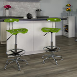 Spicy Lime Tractor Stool