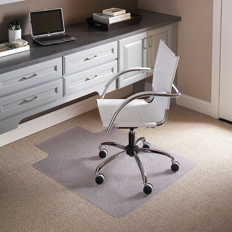 45x53 Clear Chair Mat-lip