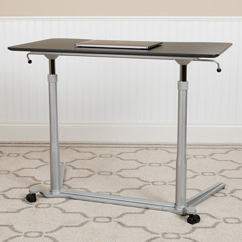 Black Sit-stand Computer Desk