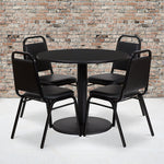 36rd Bk Table-banquet Chair