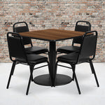 36sq Wa Table-banquet Chair