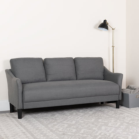 Dark Gray Fabric Sofa