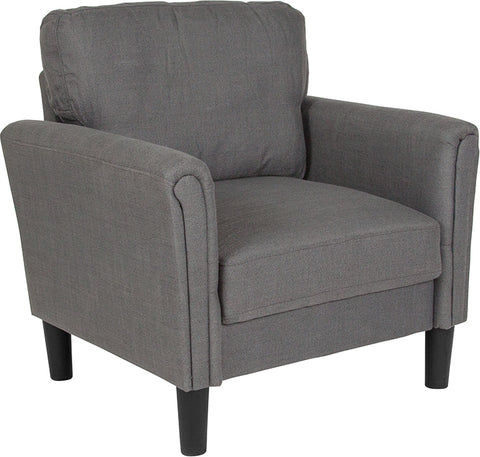 Dark Gray Fabric Chair