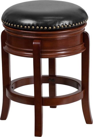 "24"" No Back Lt Cherry Stool"