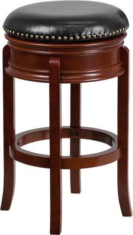 "29"" No Back Lt Cherry Stool"