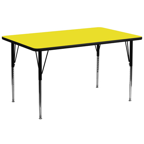 30x72 Yellow Activity Table