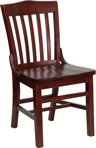 Mahogany Wood Dining Chair