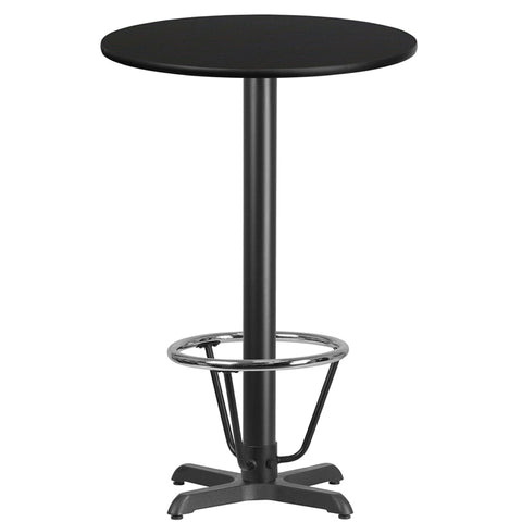24rd Black Table-22x22 X-base