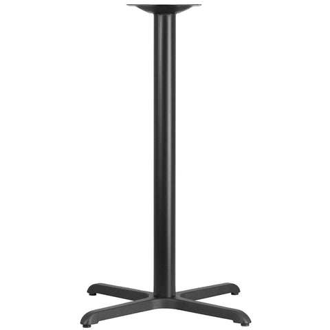 Black 30x30 Bar Height X-base