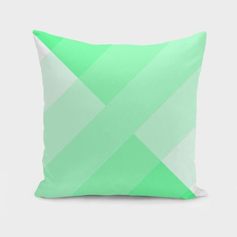 Green Gradient Pillow
