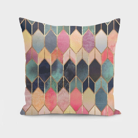 Stained Glass Pillow