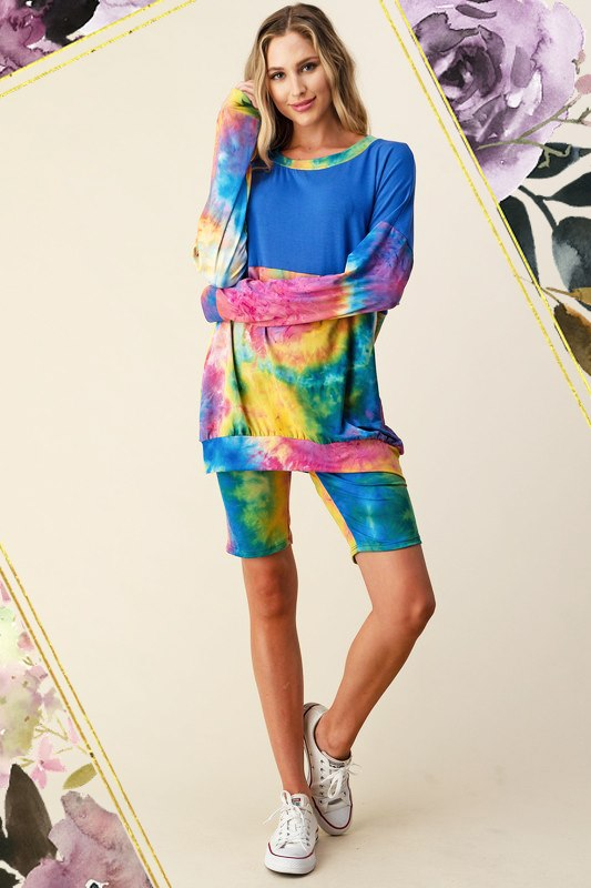 Rainbow Tie Dye Outfit *SET*