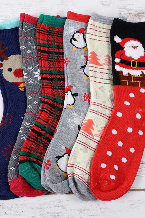 Assorted Christmas Socks