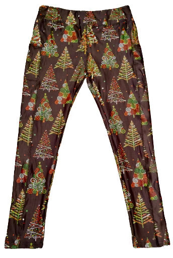 Christmas Tree Full Length Legging WITH pockets