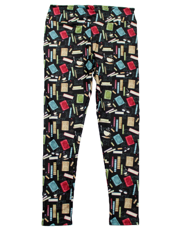 Book Lover full length legging NO pockets