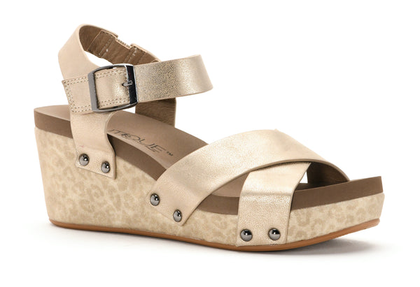 Metallic Gold Sandal