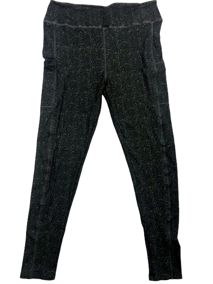 Shadow Vines full length legging with pockets