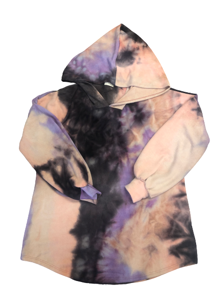 Relaxed Fit Tie Dye Hoodies