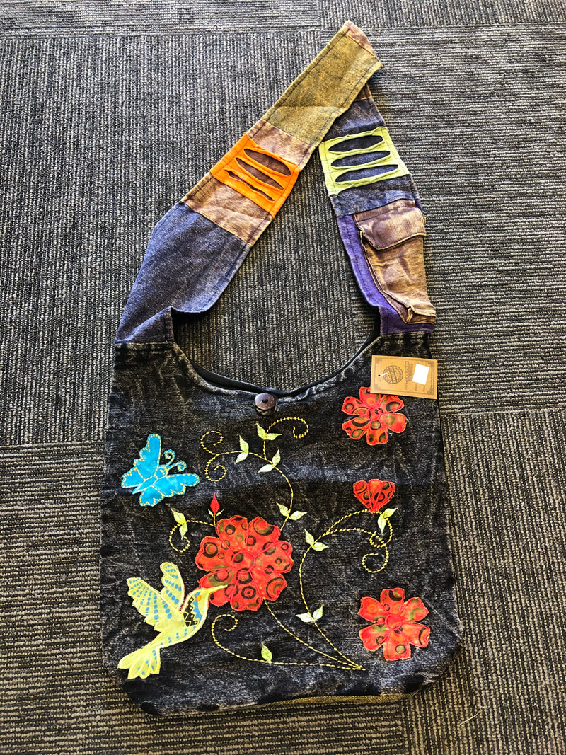 Boho Bag - Hummingbird