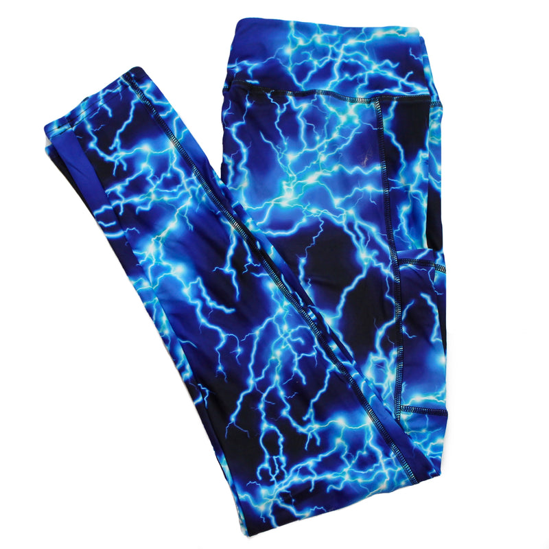 Lightning full length legging with pockets