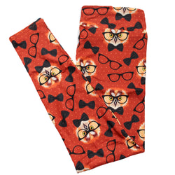 Scholarly Owls full length legging NO pockets